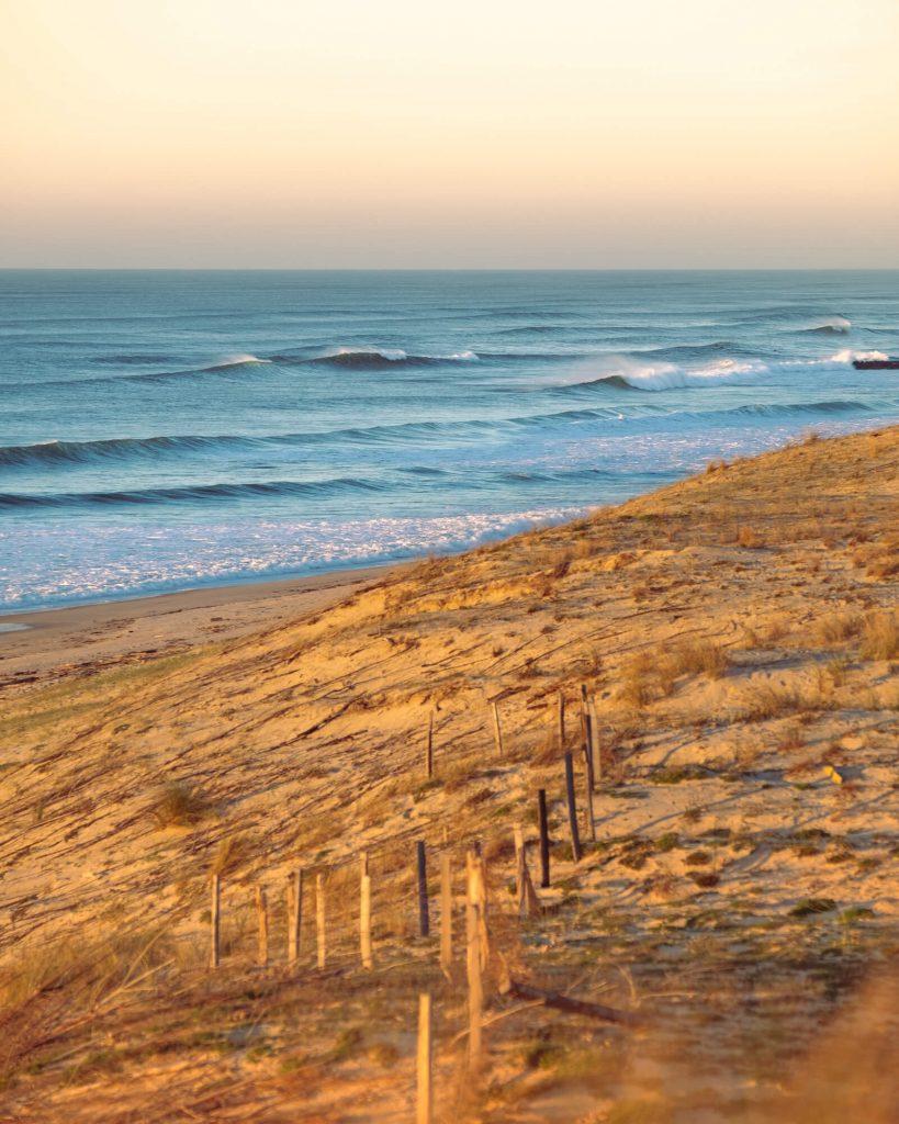 Playa de la costa sur de las Landas ©Landes Atlantique Sud